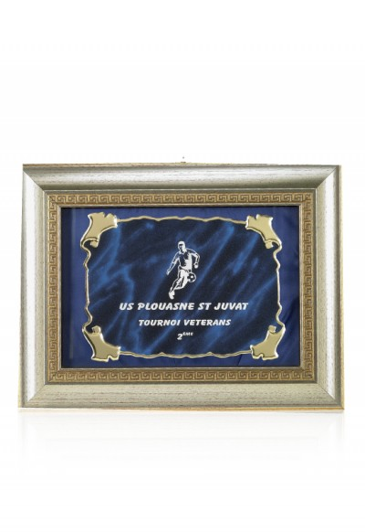 Plaque de Distinction Personnalisable - 188-11CLI